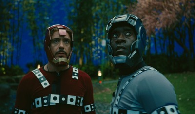 dansturm:  Without VFX, Iron Man 2 is the story of two men, with soft spots on their heads, getting into trouble in their pajamas.