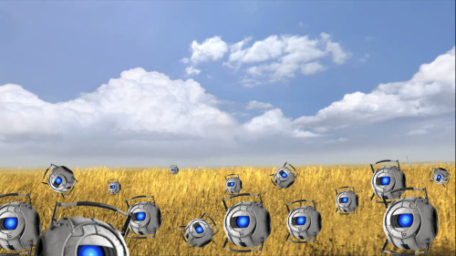 cakeylies:  My favorite part of Portal 2 is when you make it to the wheat field.