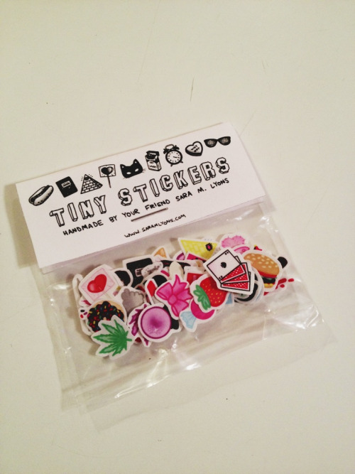 pageantpunx:  tiny stickers will be in my etsy shop in the next couple days!