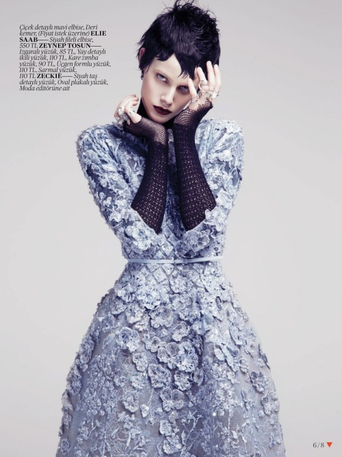 she-loves-fashion:  SHE LOVES FASHION: Ehren Dorsey by Emre Unal for Vogue Turkey May 2013
