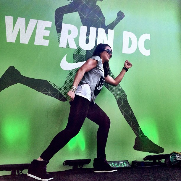 We Run DC - We Run Bold @nikewomen @nikedc #werundc #undoordinary #letsturnitup #nike #nikerunning #nikewomen #skydunks #dmv #chicksinkicks #kicks #sneakerhead #fresh #thrivin