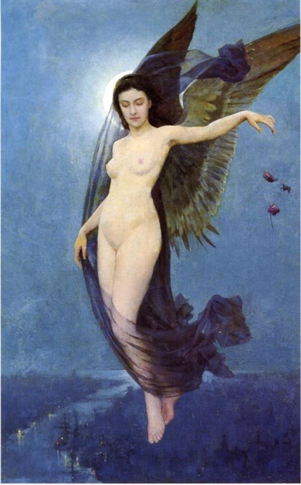 spirit-of-avalon:  Night Nymph by Robert Van Vorst Sewell