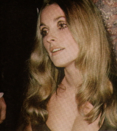 Sharon Tate at the 1968 Golden Globes
