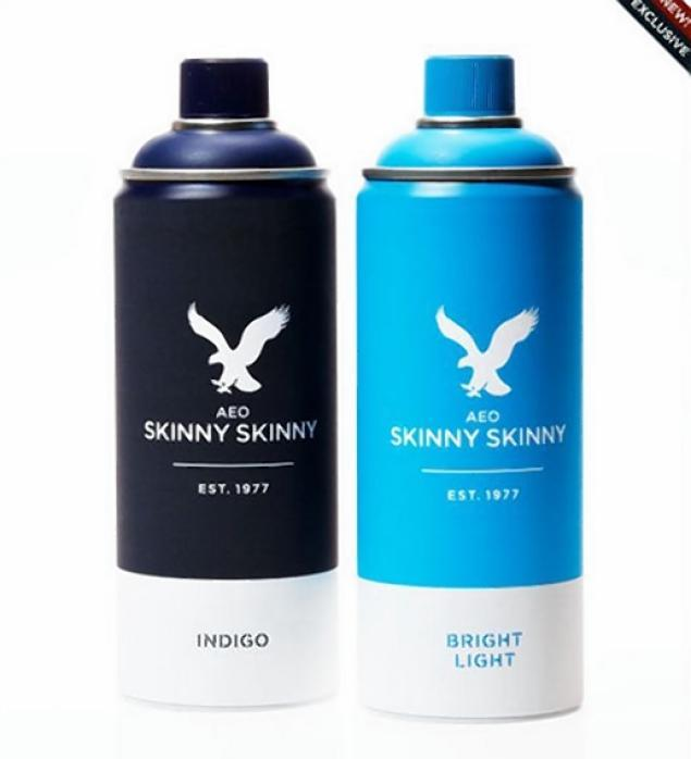SPRAY ON SKINNY JEANS GOODBYE