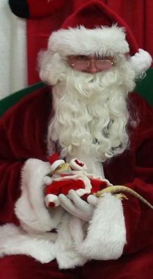 Christmas xmas santa animal reptile lizard animals in hats pogona vitticeps central bearded dragon agamid