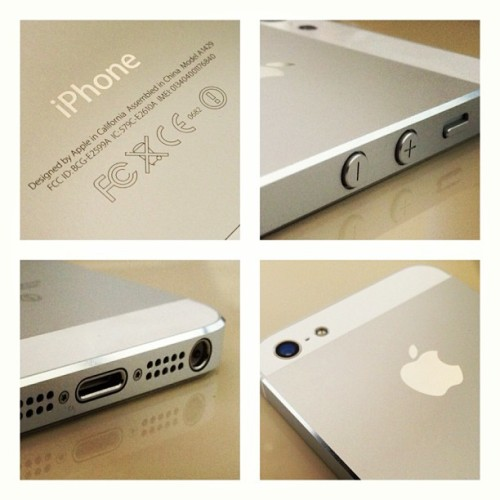 You just can't beat the hardware on the beautiful #iPhone5. Most beautiful #iPhone since.