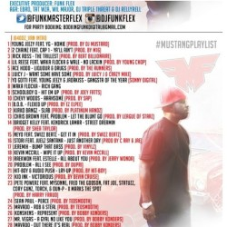"April 17th, download @FunkMasterFlex's new mixtape. ""Who You Mad At? Me or Yourself?"" - Track 16 feat. Me & @TheJuelzSantana - ""Just Another Day"" #BOOM!!!"