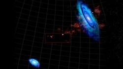 space-pics:  Hydrogen Clouds Discovered Between Andromeda And Triangulum Galaxies http://space-pics.tumblr.com/
