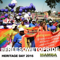 "This year Soweto pride faced opposition by the state and had to be cancelled. Was this a move to stamp out celebration and protest of LGBTI people in the area? http://holaafrica.org/2016/10/22/cancelling-soweto-pride-a-move-to-stamp-out-gathering-and-protest/Cancelling Soweto Pride: A move to stamp out gathering and protest?SOWETO PRIDE is a political project initiated by FEW in 2004 with the aim of creating and entrenching a political and social space for black lesbian women – together with the broader lesbian, gay, bisexual, transgender and intersex community – to celebrate sexuality and humanity within the communities LGBTI people inhabit, and yet within which they are excluded and marginalized on a daily basis.According to FEW 'It is an act of courage and resistance, an act of open public display and a key moment in the year for increasing the visibility of all the identities of this community. SOWETO PRIDE is also, importantly, a social space where black lesbian women and the broader LGBTI community, women's rights movement and other human rights organisations come together to connect and have fun in a safe space.'Continuing, the organisation said 'two weeks before the event was set to be held we were informed that it had been classified as a medium risk event due to ""unruly behaviour"" of some of the participants in the 2015 event held in Meadowlands. This categorization meant that the organisation had to find an additional R 146 000 in order to comply with the conditions or face Soweto Pride being shut down and the organisers arrested. This is a huge amount for a small organisation which runs primarily on donor funding that is restricted.'#FreeSowetoPride https://t.co/UITgdYGP9L— FEW_South Africa (@FEW_Tweets) October 4, 2016Support this urgent and important campaign by @FEW_Tweets, and say no to bullying by state. Click: https://t.co/5THbrp6LwA #FreeSowetoPride— Amandla! (@AmandlaMobi) September 28, 2016This should be happening today! Heritage Day shame. Sign petition here: https://t.co/bcWx4YE2MW #sowetopride #freesowetopride #LGBTheritage pic.twitter.com/LqGai2J6nd— Mambaonline (@Mambaonline) September 24, 2016This is a conversation between Advocate Mandisa Mbatha-Backett – Forum for the empowerment of women board member and Chief Superintendent Wayne Minnaar – Spokesperson for the Johannesburg Metro Police Department about the cancellation of Soweto Pride."
