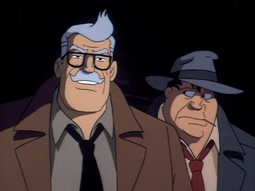 In memory of Bob Hastings, voice of James Gordon on Batman the animated series.  April 18, 1925 - June 30, 2014