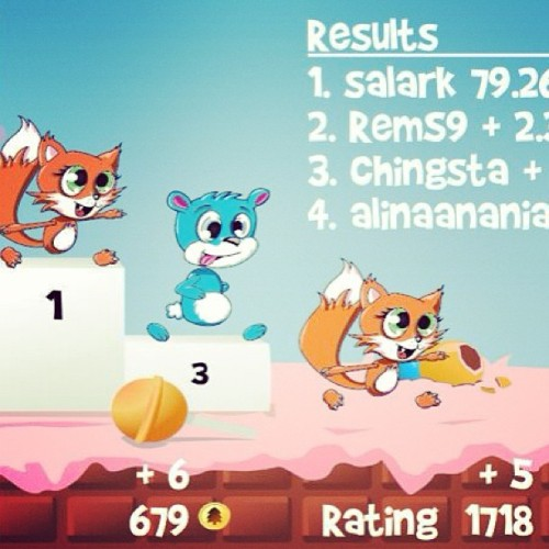Fun Run AKA Mario Kart on your phone AKA greatest thing since…ever #funrun #firstplaceyeaahhhhh