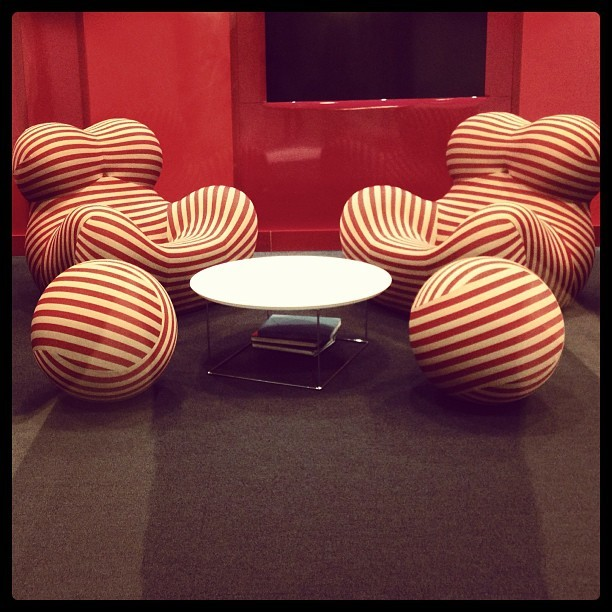 What do these chairs remind you of?