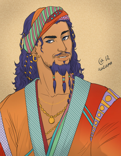 pragnacious:  Daario Naharis by ~Autumn-Sacura Here you go, Jules.