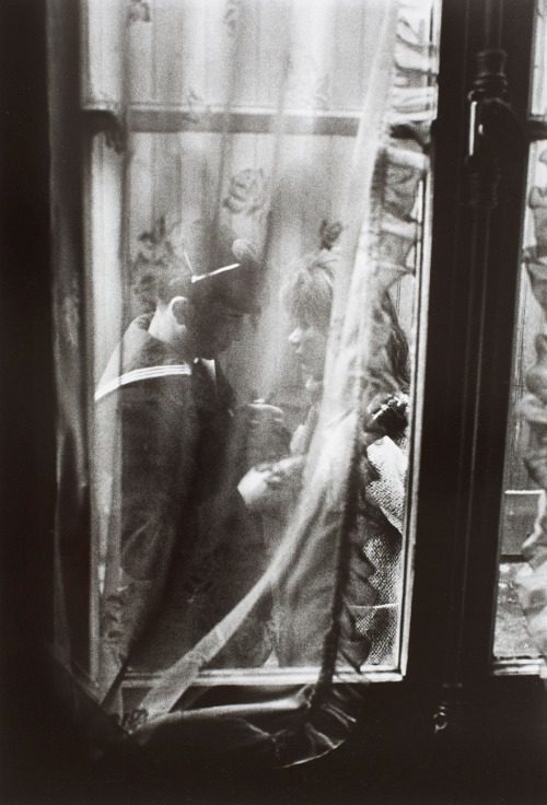inneroptics:  WILLY RONIS  LES ADIEUX, PARIS 1963