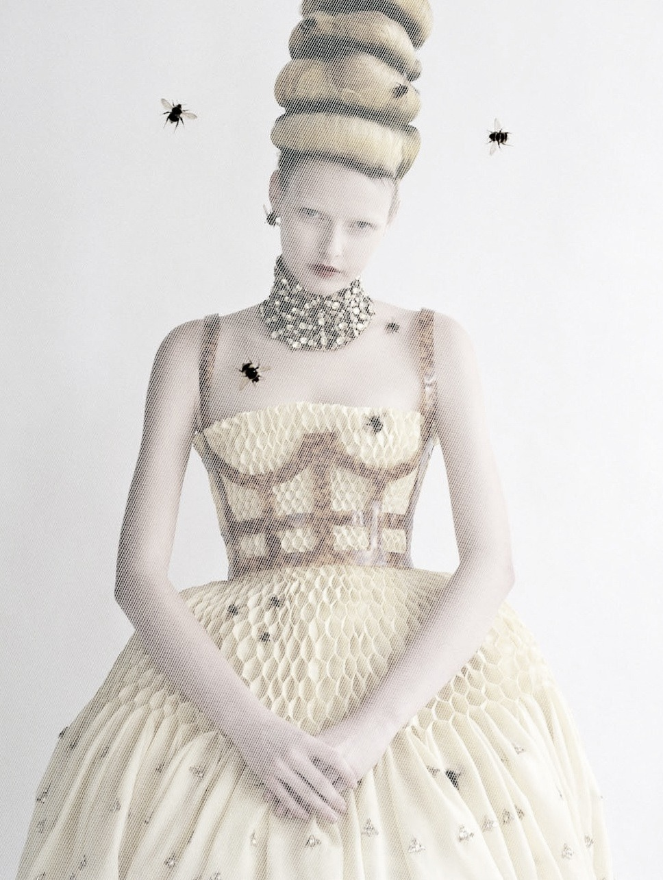 'High & Mighty' Elza Luijendijk by Tim Walker for Vogue US March 2013