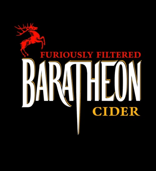 tshirtroundup:  BARATHEON CIDER by a_man_oxfordOn sale for $10 from Unamee for a limited time only.