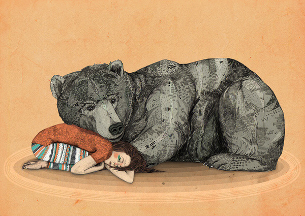 lohrien:  Illustrations by Sandra Dieckmann society6 l tumblr