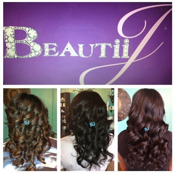 Curls for the Gurls! Want Long gorgeous curls for the summer?  Call me #BeautiiJ for your next #Sewin Install! And Purchase 2 packs of #Brazilian Body wave for only $165.00 Book here www.BeautiiJoseph.com or call (404)839-4776 #hair #atlhair (at Spoiled Opulence Salon)