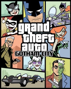 insanelygaming:  Grand Theft Auto: Gotham City