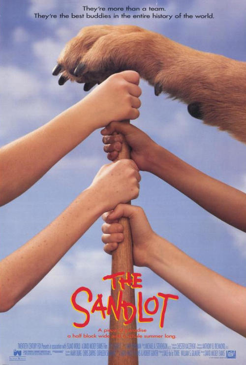 upnorthtrips:  20 YEARS AGO TODAY |4/7/93| The movie, The Sandlot, was released in theaters.