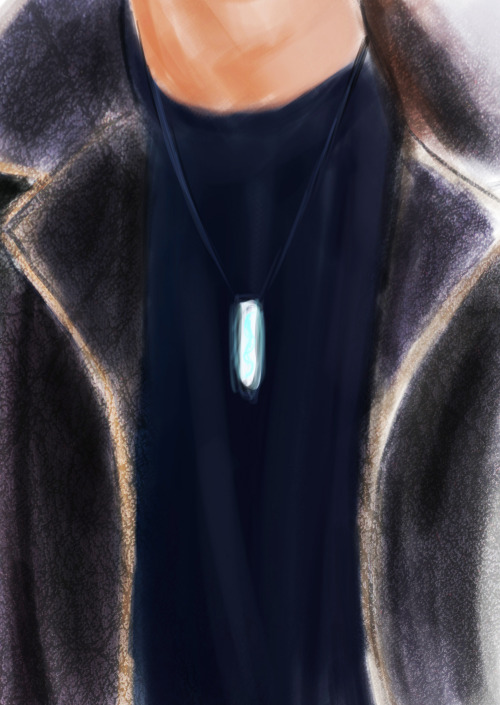 rock-salt-and-shotguns:  artactually:  Let's say that Cas wears Dean's amulet and Dean wears Cas's grace…  this is everything that i want.