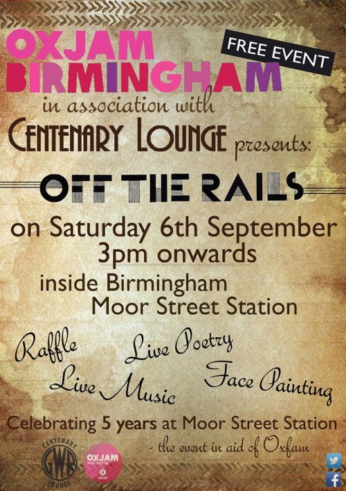 Running this Oxjam Brum event tomorrow at Moor Street Station. Birmingham come on down!https://www.facebook.com/events/639734819477428/?fref=ts