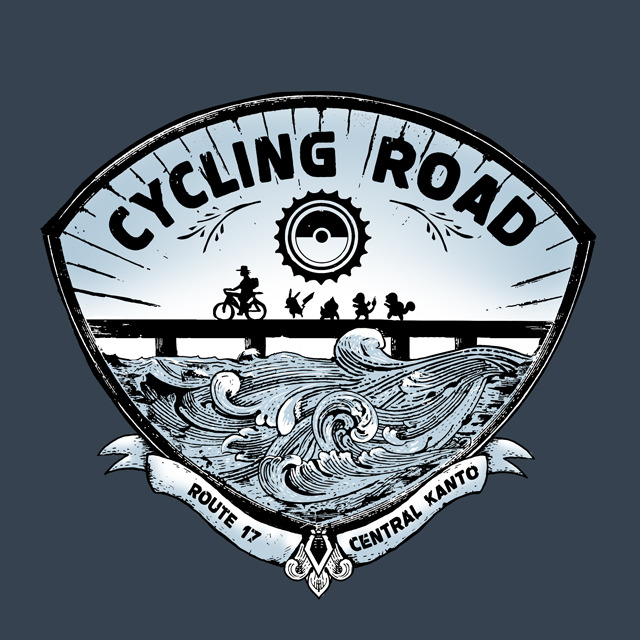 Cycling Road! Stay healthy and help the environment, too! Grab one at: http://www.redbubble.com/people/junkenheimer/works/10257841-cycling-road