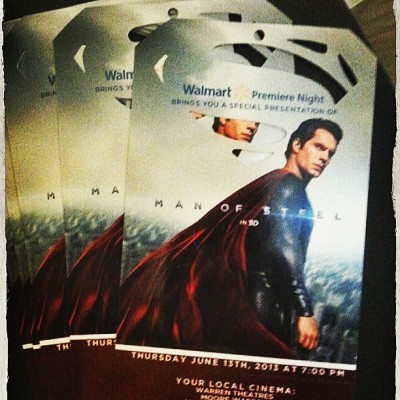 26 days… #ManOfSteel