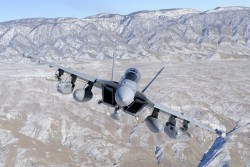 The potential 2014 defense budget calls for an additional order of 21 EA-18G Growlers for the United States Navy.
