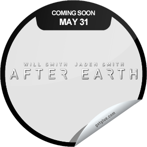 I just unlocked the After Earth Coming Soon sticker on GetGlue                      8056 others have also unlocked the After Earth Coming Soon sticker on GetGlue.com                  A father and son, after a crash landing, explore a planet that was evacuated by humans due to catastrophic events. Will Smith and Jaden Smith star in After Earth. Be sure to check it out when it opens in theaters on 5/31.  Share this one proudly. It's from our friends at Sony Pictures.