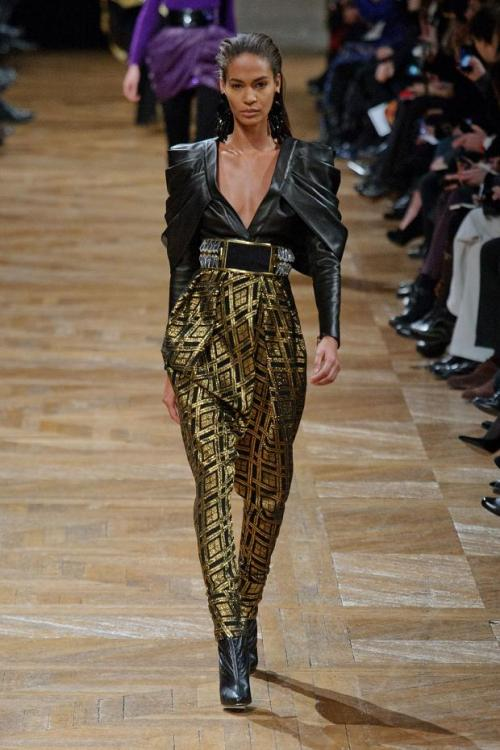 daneikamarch:  Balmain Autumn Fall Winter 2013  Fiiierce!