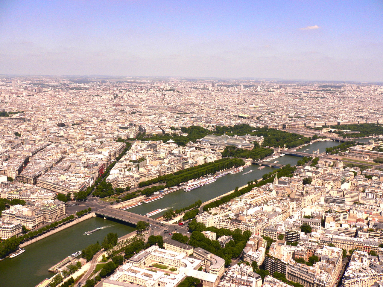 Paris from its top
