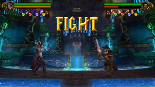 """I made a mockup for a Warcraft Fighting game, thought you guys might like it."" - Imgur"