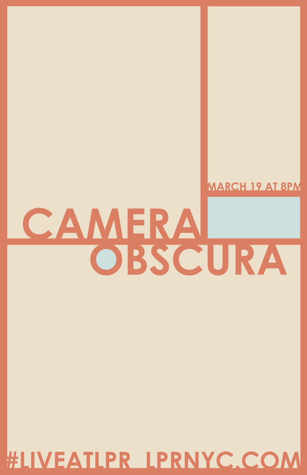 zanemerson:  camera obscura live at lpr