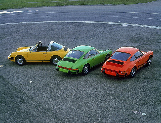 1974 Porsche 911 Range by Auto Clasico on Flickr.