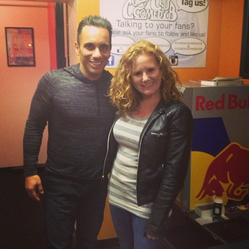 Had such a blast opening for Sebastian Maniscalco this weekend. I highly recommend you check him out if you dig major LOLZ.