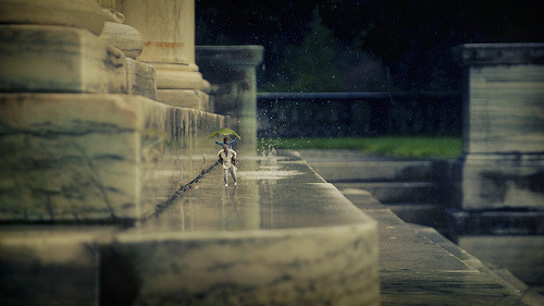 Photoblog Spotlight: Miniature Worlds 14-year-old Photographer Zed plays with proportions to recreate fantasy worlds. Check out his Flickr gallery here.