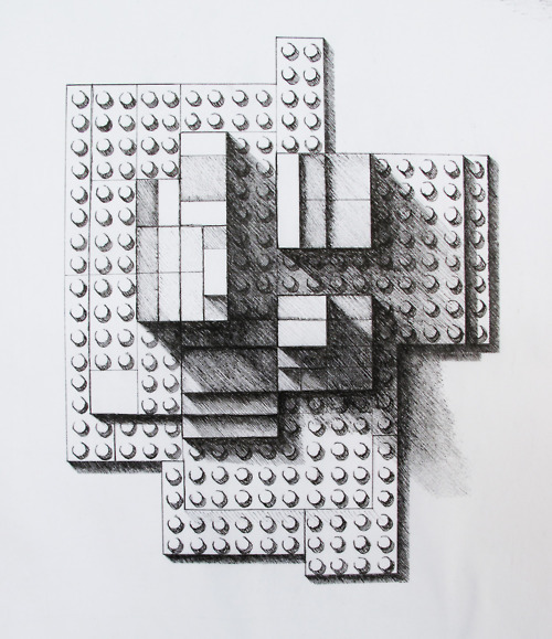 Form Study with Legos. Sarah Keats