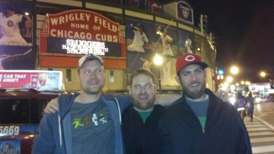 overdue photo of a great weekend in Chicago