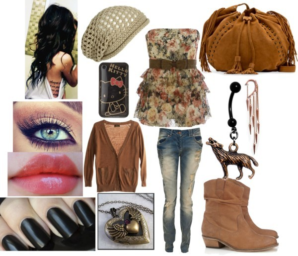 Untitled #349 por shadow-spirit con cowgirl booties ❤ liked on Polyvore