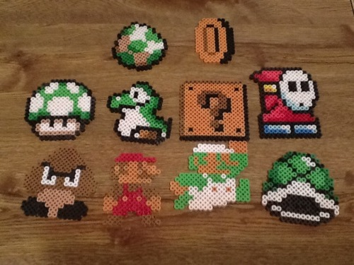 tribor:  I'm actually surprised with how many Mario things I ended up making. At least most people know what all these items are.