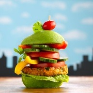 MONSTER Veggie Burge http://bit.ly/10koxRI