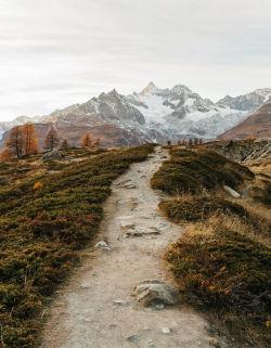 whitenoten:  Five Lakes Trail, Zermatt 2014