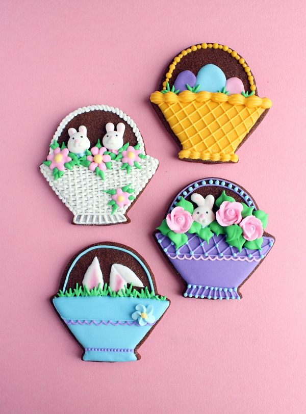 (via Easter Basket Cookies | Gwen's Kitchen Creations)