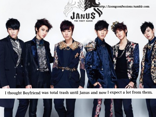 I thought Boyfriend was total trash until Janus and now I expect a lot from them.