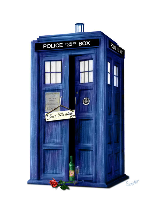nathanielemmett:  I sincerely hope this is how the Tardis looked when The Doctor and River went on what was probably a series of honeymoons.