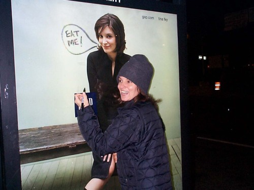 Tina Fey in 2001