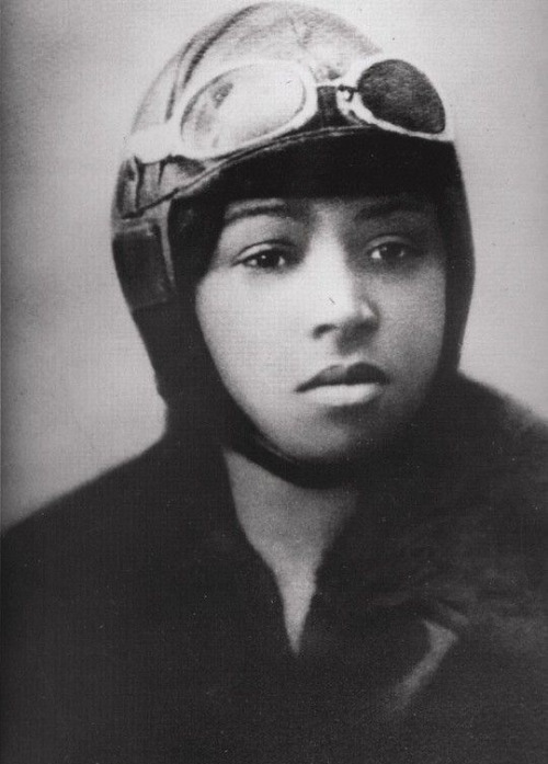 Bessie Coleman (1892-1926) was the first Black American female pilot ever.  Her mother was born a slave and could not read. Her father was a Black Choctaw Indian. Bessie was the tenth of 13 children (four died young). They had a house on their own little piece of land in Waxahachie, Texas.