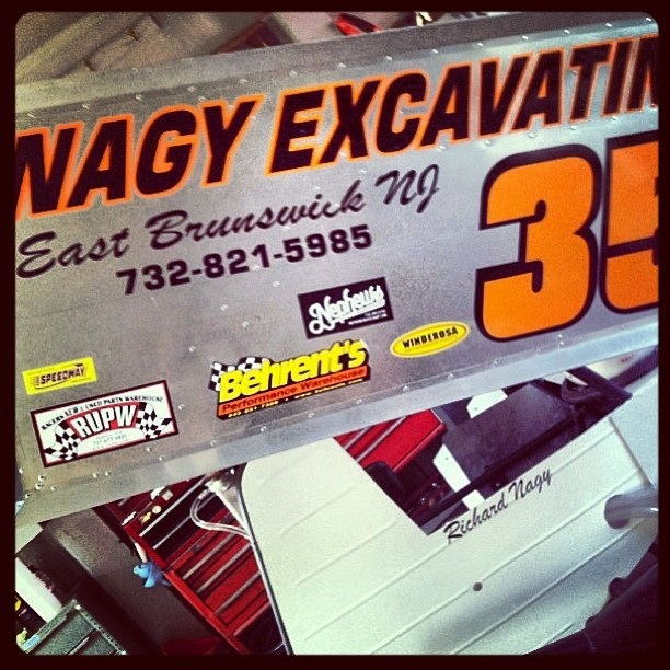 There's nothing stock about a stock car. We are happy to be part of the Nagy Racing Family! (at Nephews Skateshop + Art Gallery)