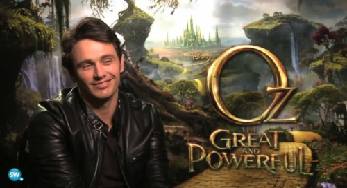 Oz The Great and the Powerful | JAMES FRANCO INTERVIEW [VIDEO]